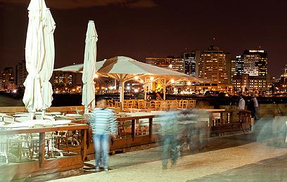 ספקטקל. הנוף ממסעדת קאזה נובה (צילום: בועז לביא)