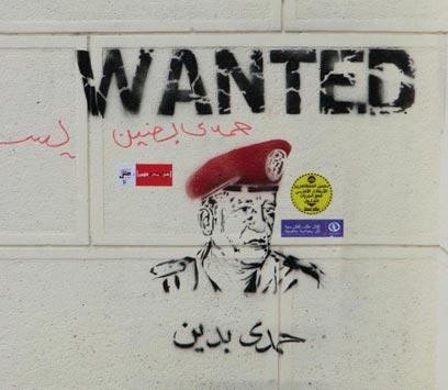 גרפיטי נגד טנטאווי בקהיר (צילום: אלדד בק) (צילום: אלדד בק)