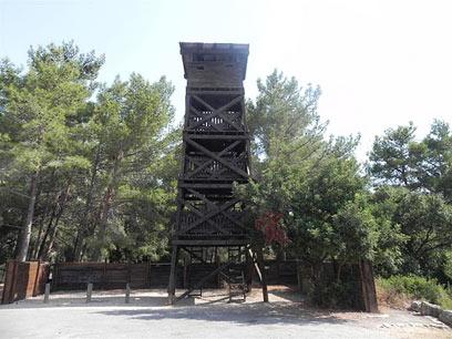 חומה ומגדל בחניתה  (צילום: זיו ריינשטיין) (צילום: זיו ריינשטיין)