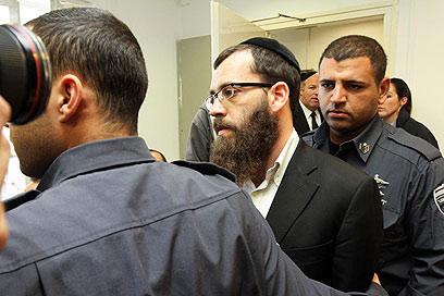 מנהל בית הספר, שמואל וייספיש, שמעצרו הוארך בשלושה ימים (צילום: גיל יוחנן)
