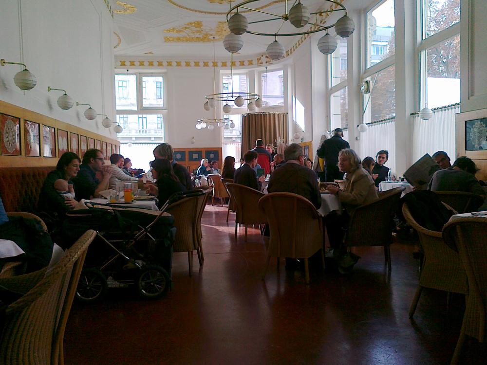 הכל התחיל אצל הגרגרנים מבירת אוסטריה. בית קפה וינאי (צילום: יואב גלזנר) (צילום: יואב גלזנר)