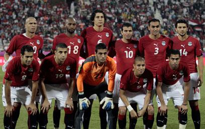 נבחרת מצרים. האירועים במדינה פגעו גם בכדורגל (צילום: EPA) (צילום: EPA)