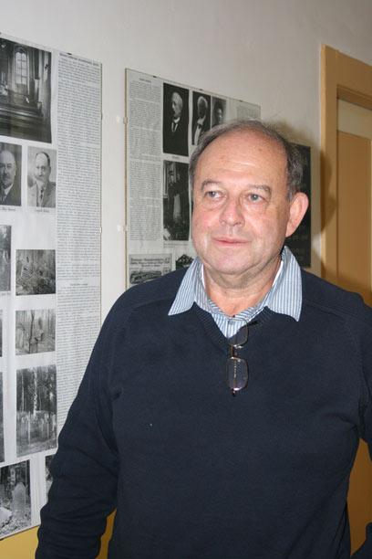 """פאבל רובין, ראש הקהילה היהודית שמונה כיום 87 """"יהודים מוצהרים"""" (צילום: טלי פרקש) (צילום: טלי פרקש)"""