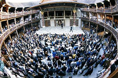תיאטרון הגלוב בלונדון. יארח את הבימה ורבים אחרים (צילום: gettyimages) (צילום: gettyimages)