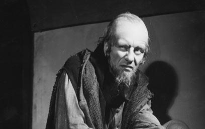 ג'ון גילגוד כשיילוק בהצגה מ-1938 בלונדון (צילום: gettyimages) (צילום: gettyimages)