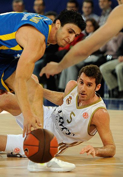 ליאור אליהו ורודי פרננדס (צילום: AFP) (צילום: AFP)