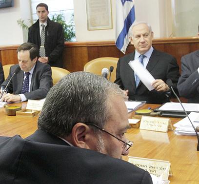 ישיבת הממשלה מחר תהיה כנראה רק תחנה (צילום: אלכס קולומויסקי, ידיעות אחרונות) (צילום: אלכס קולומויסקי, ידיעות אחרונות)
