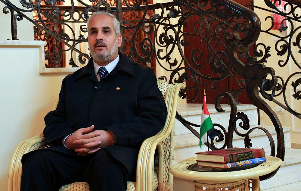 Hamas Spokesperson Fawzi Barhoum (Photo: AP)