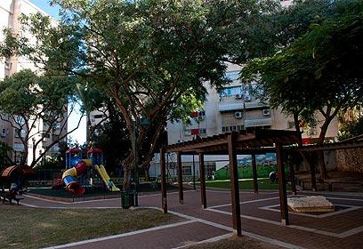גן משחקים (צילום: ירון ברנר)