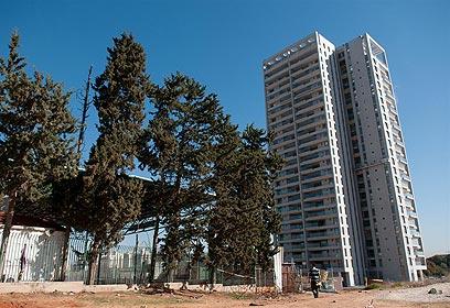 צפי: 500 יחידות דיור (צילום: ירון ברנר)