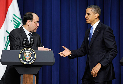 US President Barack Obama and Iraqi Prime Minister Nouri al-Maliki (Photo: Nouri al-Maliki)