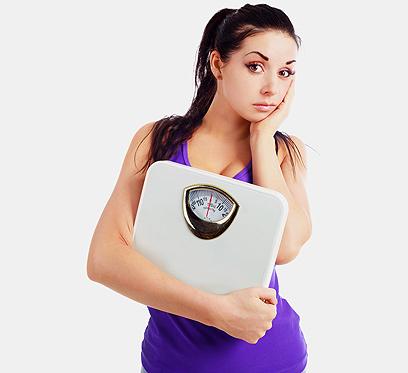 הגוף מתרגל מהר למצב החדש והירידה במשקל נבלמת (צילום: shutterstock)