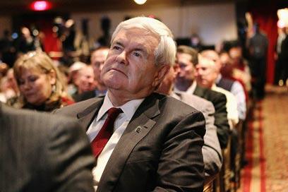 """גינגריץ'. """"יפלג ולא יאחד"""" (צילום: AFP) (צילום: AFP)"""