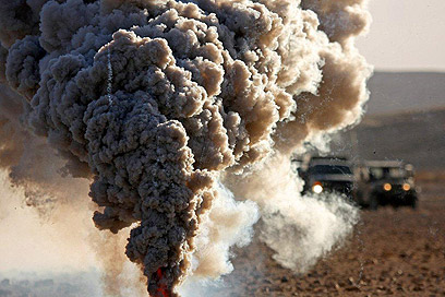 Huge firepower (Photo: IDF Spokesman's Office)