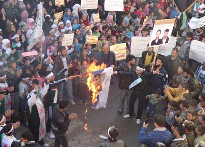 """""""איראן מוטרדת מהאירועים בסוריה"""" (צילום: רויטרס) (צילום: רויטרס)"""
