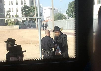 המקרה נגמר ברוח טובה, טענו במשטרה. איש לא נעצר (צילום: טניה רוזנבליט) (צילום: טניה רוזנבליט)