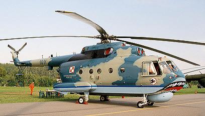 מסוק ימי מדגם Mil Mi-14PL שנמצא ברשות סוריה (צילום:  CC Cropbot)