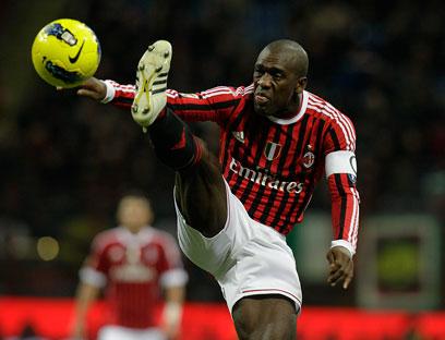 סיידורף ככדורגלן פעיל במילאן ב-2011 (צילום: AP) (צילום: AP)