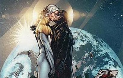 אפולו ומידנייטר. ממסדים את היחסים  (עטיפת הקומיקס) (עטיפת הקומיקס)