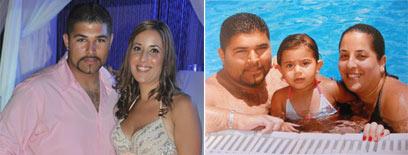 הזוגיות השתדרגה מכל הבחינות. חני ולירן לפני (ימין) ואחרי הדיאטה