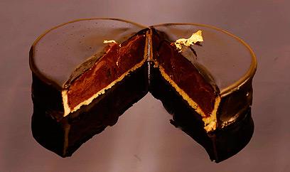 טארטלט טופי שוקולד  (צילום: רוני לביא) (צילום: רוני לביא)