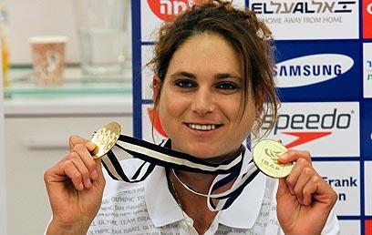 לי קורזיץ. ספורטאית השנה של הוועד האולימפי (צילום: מור שאולי) (צילום: מור שאולי)