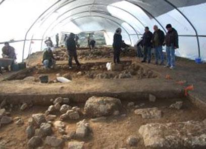 אתר העתיקות בצפון (צילום: באדיבות רשות העתיקות)