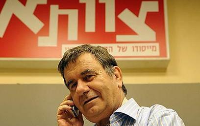 """משה טנא, מנכ""""ל """"צוותא"""". """"הדברים ייפתרו"""" (צילום: ברני ארדוב) (צילום: ברני ארדוב)"""