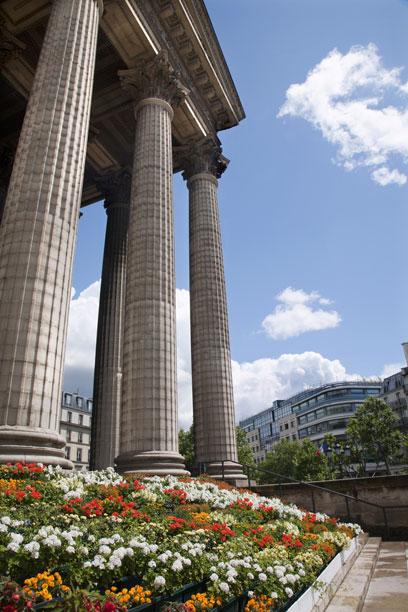 בירת הגרגרנות של פריז. כיכר מדלן (צילום: shutterstock) (צילום: shutterstock)