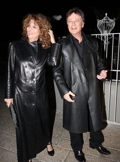 אהבה מהסצינה הראשונה: יונה אליאן וששי קשת (צילום: ענת מוסברג) (צילום: ענת מוסברג)