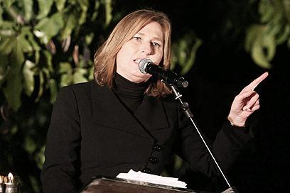"""יו""""ר המפלגה הגדולה בישראל, אחת הנשים החזקות. לבני (צילום: גיל יוחנן) (צילום: גיל יוחנן)"""