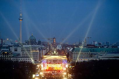 שער ברנדנבורג בברלין (צילום: AFP) (צילום: AFP)
