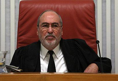 """""""אפילו גרוניס אמר שבית המשפט לא צריך להתערב"""". נשיא העליון הבא (צילום: גיל יוחנן) (צילום: גיל יוחנן)"""