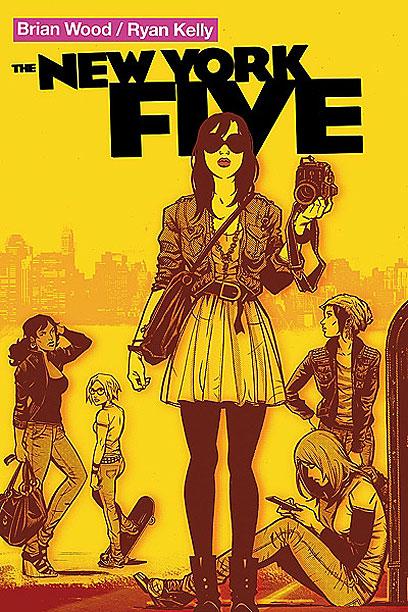 """ניו-יורקיות מוצלחות. """"The New York Five""""  (עטיפת הקומיקס) (עטיפת הקומיקס)"""