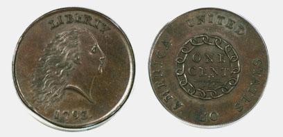 המטבע יוצר בפילדפיה ב-1793 (צילום: AP) (צילום: AP)