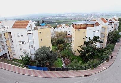 בנייה רויה בשכונה (צילום: חגי אהרון) (צילום: חגי אהרון)