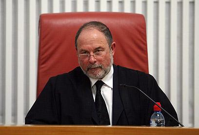 כמעט הודח. השופט יורם דנציגר חזר לבית המשפט העליון  (צילום: גיל יוחנן)
