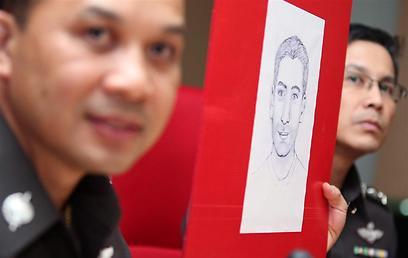 קלסתרון של החשוד בתאילנד (צילום: EPA) (צילום: EPA)