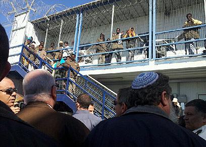 מתקן הכליאה סהרונים. 3,000 מקומות עד סוף השנה (צילום: אילנה קוריאל) (צילום: אילנה קוריאל)