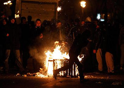 """המחאה החברתית ברומניה לפני כחצי שנה (צילום"""" רויטרס) (צילום"""