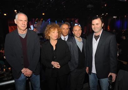 חמשת המועמדים לפרס ספיר 2011    (צילם: בן קלמר) (צילם: בן קלמר)