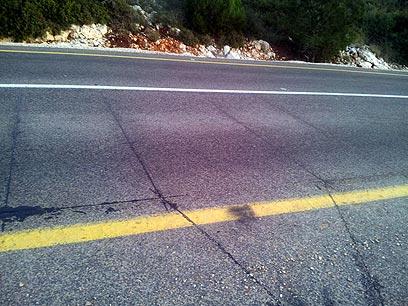 לולאות מתחת לאספלט ימדדו את המהירות. לא תראו אותן (צילום: דניאל פטרי) (צילום: דניאל פטרי)