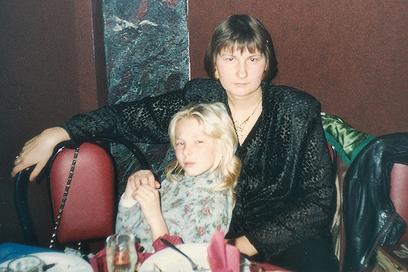 """עם אמא ילנה ז""""ל. מתגעגעת לחיבוקים ולנשיקות"""