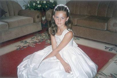 לינה בילדותה. תמיד אמרו להורים שלי שאני אהיה מלכת יופי