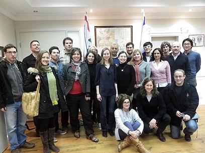 הסטודנטים בקריית גת (צילום: מיכל כהן) (צילום: מיכל כהן)