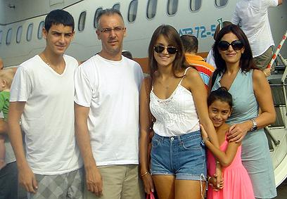 משפחת אזולאי. כולם במשפחה גבוהים