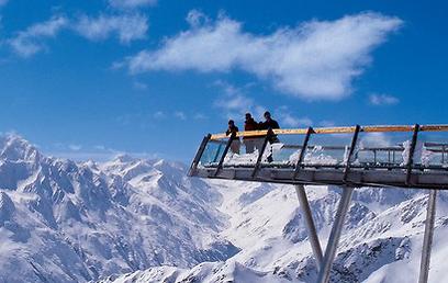 3 פסגות בגובה של יותר מ-3,000 מ'. זולדן (צילום: Otztal Tourismus) (צילום: Otztal Tourismus)
