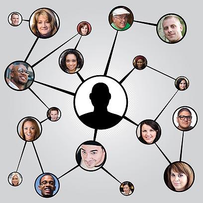 """המלצות מחברות תמיד מועילות. קבוצת """"בחורים שווים בין חברות"""" (צילום: shutterstock) (צילום: shutterstock)"""
