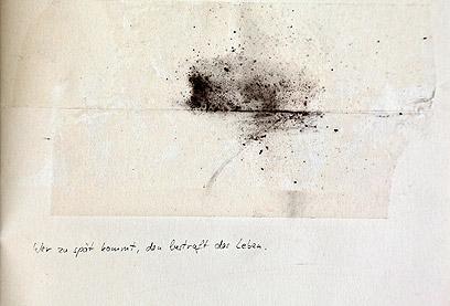 אלו שבאים מאוחר, ייענשו על ידי החיים. 1997 (צילום: סבינה סאובר) (צילום: סבינה סאובר)