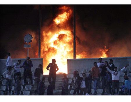Port Said soccer riots (Photo: EPA)